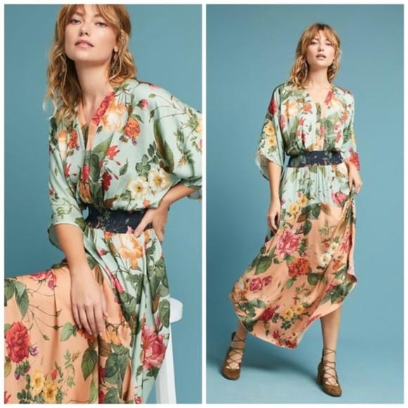 9e608f200b3d7 Farm Rio Dresses & Skirts - ANTHROPOLOGIE FARM RIO MARILLA MAXI DRESS